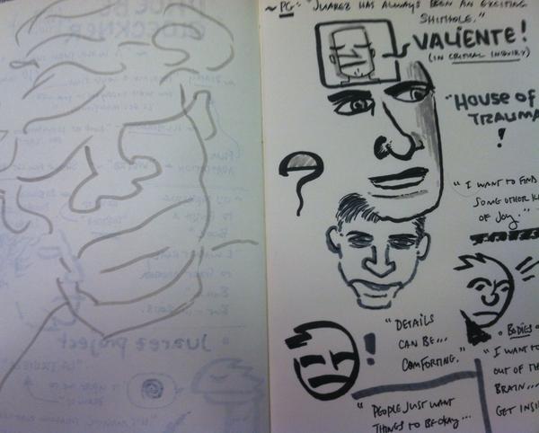 ICAF Doodles