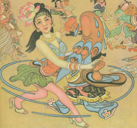 Zhang Guangyu's Manhua Journey to the West (1945) – Part 4 of 6