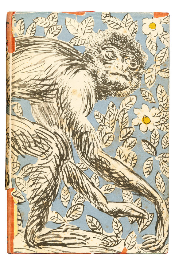 Monkey, 1st edition cover [back]